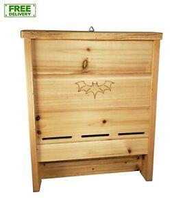 Bat House, Premium Cedar Bat Box, Handcrafted in USA