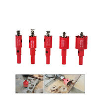 5Pcs 16~30mm Hole Saw Drill Bits Set Cutter for Cutting Stainless Steel Metal