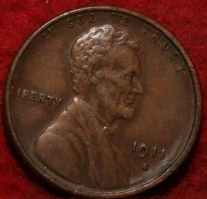 1911-S San Francisco Mint Copper Lincoln Wheat Cent