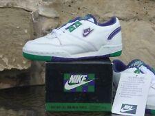 Vintage 1986 Nike All England Kids Tennis Trainers Made In Korea Wimbledon DS OG