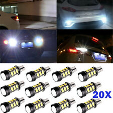 20pcs T15 5630 COB 15-LED Xenon White W16W Backup Reverse Bulbs NEW