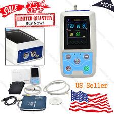 FDA Portable Vital Signs Monitor nibp+SpO2+Pr Patient Monitor,Software,Alarm,USA
