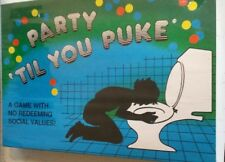 Party 'til You Puke Board Game adult drinking game PARTY
