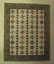 """Antique Charm Quilt Kit Fabrics 52 5/8"""" X 63 7/8"""" Various Prints Florals"""