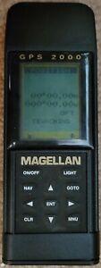 Magellan GPS 2000 Handheld GPS Satellite Navigator - PN 62010 - WORKING
