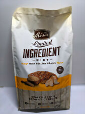 Merrick Limited Ingredient Diet Chicken & Brown Rice Recipe Dog Food 12 LB Bag