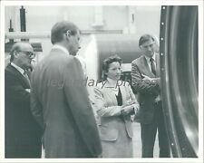 1986 Mary Cleave Hears About Hercules Project Original News Service Photo