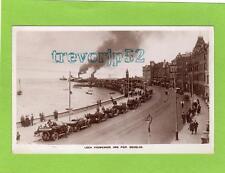Loch Promenade & Pier Douglas IOM Motor Car unused RP pc  Ref C302