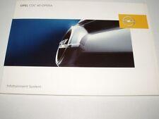 Manuale d'uso OPEL situazione System cdc40 opera, 08/2006 (NUOVO)
