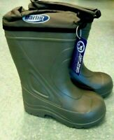 White Size 8 Marlin Deck Boots