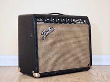 1965 Fender Princeton Reverb Blackface Vintage Tube Amp 1x10 AA764 Circuit