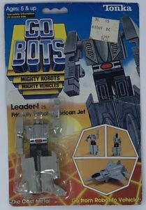 Tonka GoBots Leader-I 1984 action figure