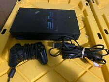 New listing Sony PlayStation 2 Console - Black Ps2 w/ Controller 100% Working