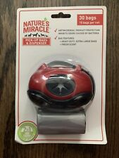 Nature's Miracle Red Pick-Up Bag Dispenser With Bags