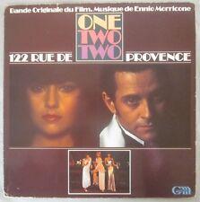 "Bande Originale Du Film ""One Two Two"" Musique De Ennio Morricone, French Import"