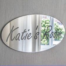 Personalised Door Name Plaque Boy or Girls Bedroom Room Sign