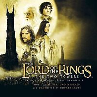 THE LORD OF THE RINGS: THE TWO TOWERS CD  BRAND NEW SEALED