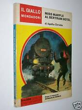IL GIALLO MONDADORI-N. 935-AGATHA CHRISTIE-MISS MARPLE AL BERTRAM HOTEL-1/1/1967