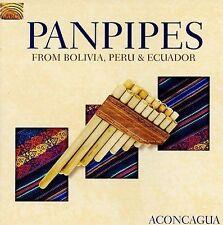 NEW Panpipes From Bolivia Peru & Ecuador (Audio CD)