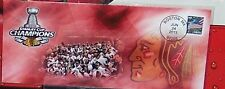CHICAGO BLACKHAWKS 2013 STANLEY CUP CHAMPIONS FIRST DAY COVER CACHET
