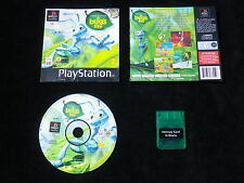 LOT CARTE MEMOIRE + JEU PLAYSTATION PS1 : Disney A BUG'S LIFE (sans livret)