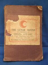 Die Lunar Monat Sportman's Guide-jährliche Zusammenfassung der bisherigen Racing 1900