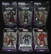 GUARDANS OF THE GALAXY Marvel Legends Complete Set of 6 Action Figures MIP