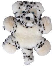 Flat Friends Snow Leopard Lambskin comforter - soft toy