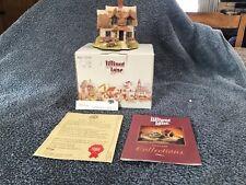 Vintage 1992 Lilliput Lane Cranberry Cottage Snow Collection Christmas Box 425
