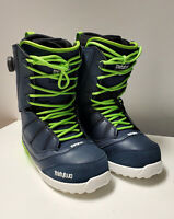 THIRTYTWO Men's SESSION Snowboarding Boots - Navy - US Size 10 - NIB