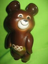 Vintage USSR 1980 Moscow Olympic Games Porcelain Bear