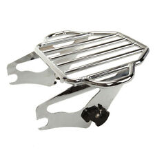 Detachable Two Up Tour Pak Pack Mounting Luggage Rack for Harley Touring 09-17