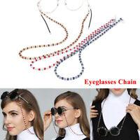 Women Eyeglass Chains Ropes Acrylic Beads Chains Eyewear Cord Holder Neck T