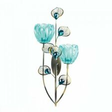 Gallery of Light Peacock Blossom Duo Cup Sconce