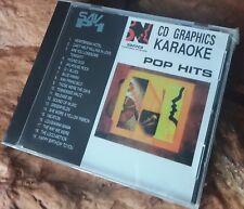 Karaoke cdg disc BMB Nikkodo SAV-P1 Pop Hits,see descript.19 trks/artist