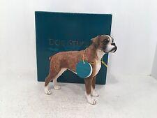 Dog Studies by Leonardo Figurine Boxer Ornament *BRAND NEW BOXED*