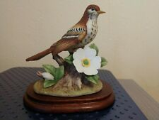 Vintage Andrea By Sadek Brown Thrasher Figurine #8238 - Estate Sale