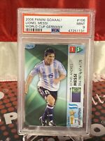 2006 Panini Goaaal FIFA World Cup Germany Soccer Lionel Messi PSA 9 🔥