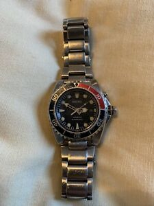 Seiko Divers Automatic Deep Blue 42mm Dial and Pepsi Bezel Men's Watch