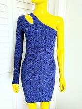 BCBG Generation Bodycon One-Shoulder Dress Size XS/S Retail $98.00!!