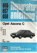 rar selten # 656/657/658 Opel Ascona C 13+16 N+S, ab Aug..81 Zug Verlag Bucheli