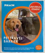 Pikaon Front Seat Barrier Car Dog Barrier Vehicle Backseat Mesh Universal Fit