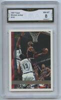 1997 Topps Basketball Michael Jordan GMA 8 NM-MT #123 Chicago Bulls HOF