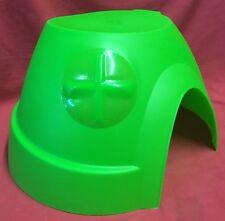 Guinea Pig House Large Green Plastic 10.5 x 11 x 6 Inch Rat Chinchilla Degus