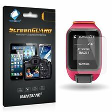 3 Front Clear LCD Screen Display Protector Film Foil For GPS TomTom Runner 3