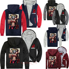 Deadpool and Joker Hoodie for Men Women Casual Sports Jacket Unisex Sweatshirts