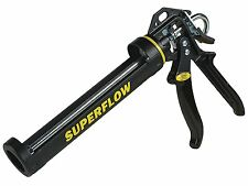 Everbuild SUPERFLOW Sealant Silicone Caulking Mastic Caulk Gun 290 - 310 ml