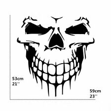 Large Vinyl Skull Skeleton Body Decal Window Car  Hood Side Door Sticker Emblem