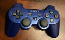 Genuine OEM Sony Playstation 3 PS3 Sixaxis DualShock 3 Controller - BLUE
