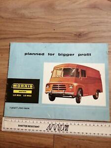 Morris Series LD M20 LD M30 Sales Brochure 1962